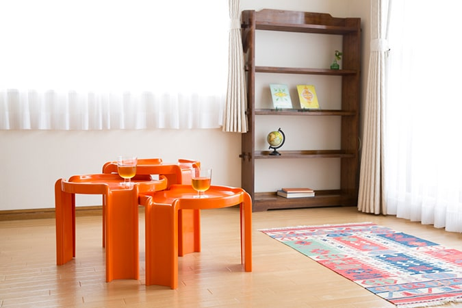 HIMALAYAHOUSE VAASTU interior design and coordination/Kartell Nesting Tables